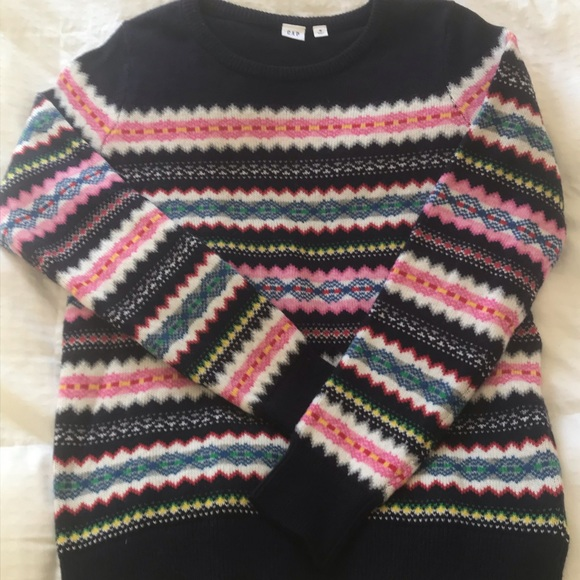 GAP Sweaters - GAP colorful sweater M